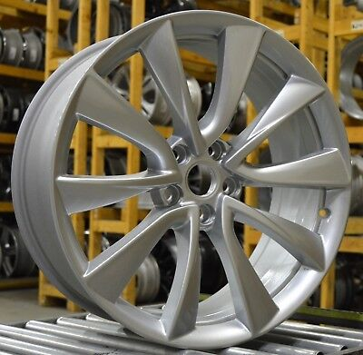 """Used, 20"""" Tesla Model 3 2018 Factory OEM Rim Wheel Bright Silver  for sale  Shipping to Canada"""
