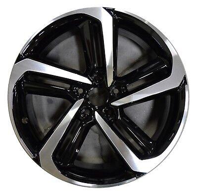 "19"" Honda Accord 2018 2019 2020 Factory OEM Rim Wheel 64127 Black Machined"