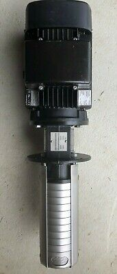 Grundfos Cnc Immersible Multistage Coolant Pump Crk2-909 P-wb-a-auuv