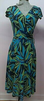 Vans With Skirts (NWT Van Huesen Dress size 2 Junior Wrap Top with Tie A Line Skirt Sub Tropical)