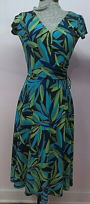 NWT Van Huesen Dress size 2 Junior Wrap Top with Tie A Line Skirt Sub Tropical C](Vans With Skirts)