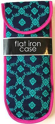 Flat Iron & Locks Styling Case ~Sheffield Home Designer Style ~ New~Free Shipping