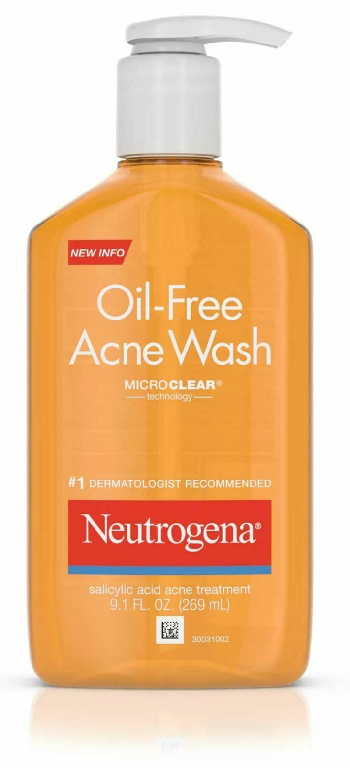 Neutrogena Oil-Free Salicylic Acid Acne Fighting Face Wash -