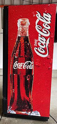 Commercial Single Door Coca-cola Cooler Coke