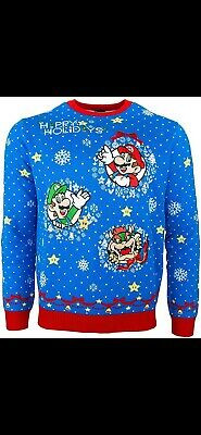 Mario christmas sweater