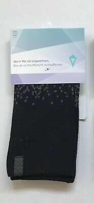 NWT Ivivva by Lululemon Warm Me Up Legwarmers XS/S Gray Black Cute