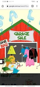 Garage Sale, new and Second hand items