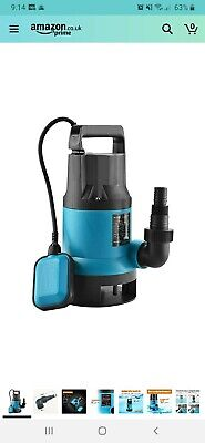 KATSU 151652 400W Heavy Duty Submersible Clean and Dirty Waste Pond Water Pump