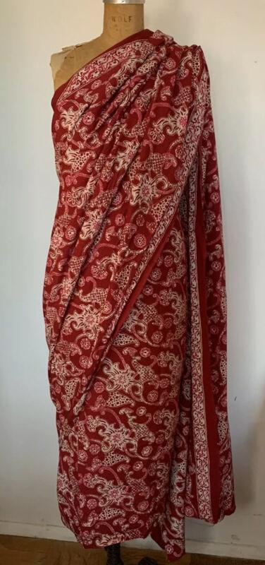 indonesian batik fabric Sarong Wall Hanging Tribal Sari Saree