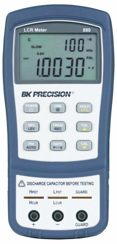 BK 880 40,000 Count Dual Display Handheld LCR Meter, 100 kHz