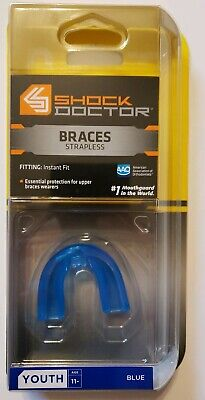 New Shock Doctor Better Sports Protection Braces Strapless Youth 11- Blue