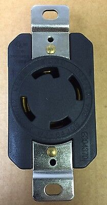 Heavy Duty L14-30R 4P Twist Lock Locking Receptacle Female Device 30A 125/250V