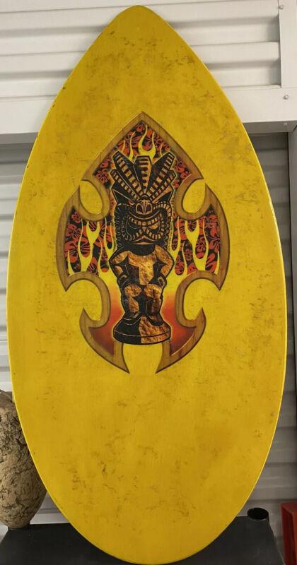 Big 41X21 CYA California Custom Mayan Skimboard Skim Surf Board