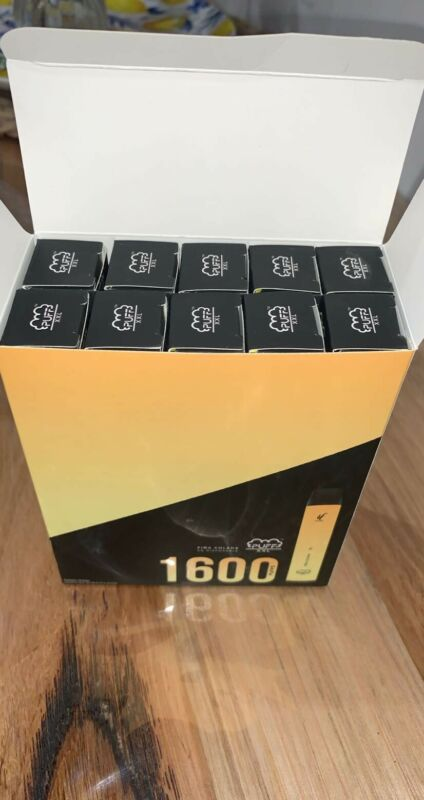 Puffff Bar XXL- Disposable Pod Device upto 1600 Pufffs - Pina Colada