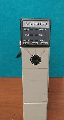 Allen Bradley 1747-l542c Slc 500 Processor Unit 504 Cpu Rev. 3