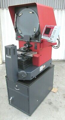Nice Starrett 16 Horizontal Benchtop Optical Comparator W Stand - Hb-400