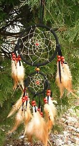 Dream Catcher Feather Beads Bohemian Web Wall Door Windows Decor 5 inches Gift