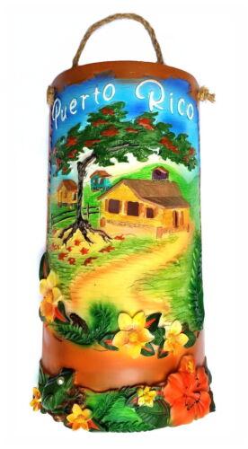 """15"""" Inch Puerto Rico Home Decorative Souvenirs Tile Shingle Wall Rican Boricua 4"""
