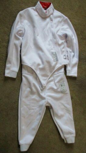LEONARK 350NW Fencing Uniform Suit - Pants Jacket Vest Set Brand New Size 44