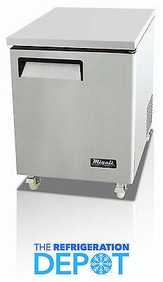 Migali C-u27r Under-counterwork Top Refrigerator - Free Shipping