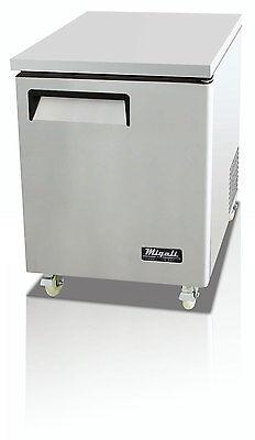 Migali C-u27f Commercial Single Door Undercounter Freezer