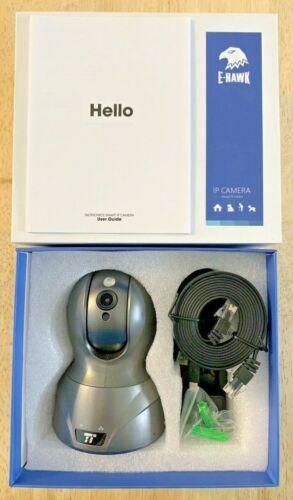 TaoTronics E-Hawk IP Camera Model: TT-HS005, Gray NEW in OPEN BOX-Free Shipping!