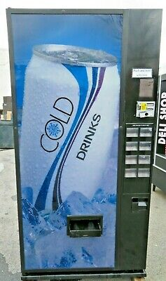 Dixie Narco Soda Canned Drink Vending Machine - Cans