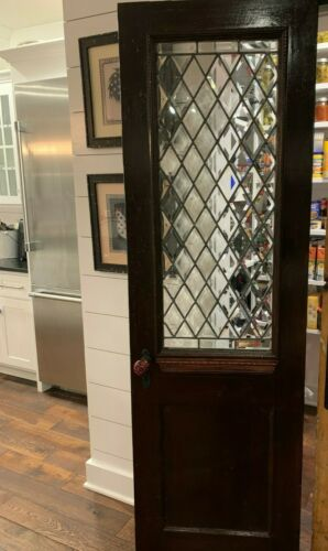 1860 Farmhouse Beveled Glass Door