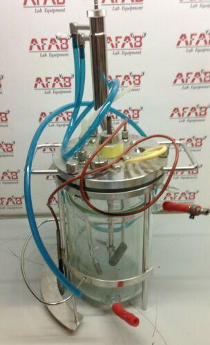 G-3082 Glass Bioreactor Fermenter Vessel
