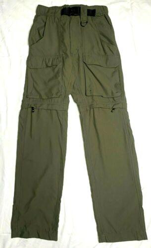 Boy Scouts Green Convertible Switchback Pants Size XS