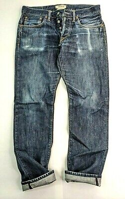 Simon Miller Japanese Selvedge Denim Jeans Made in USA Size 30 x 29 (actual)