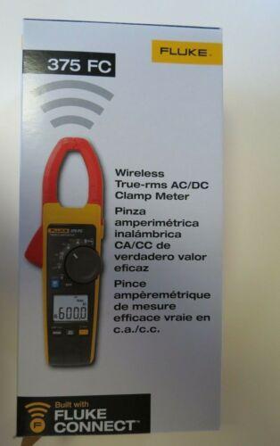 Fluke 375 FC Wireless True RMS AC/DC Clamp Meter New