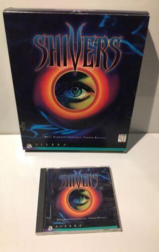Computer Games - Vintage Shivers PC Computer Game CD-Rom RARE Windows Sierra W/ Box