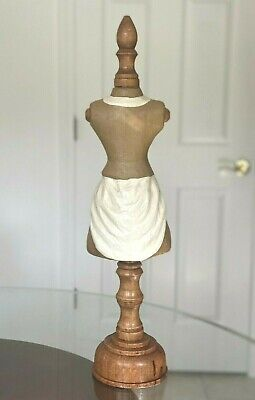 Tabletop Mini Dress Form Mannequin 22.5 Inch Total Height