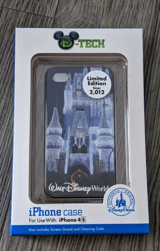 NIB Disney Parks D-tech Cinderella Castle 4 4s Case Magic Kingdom