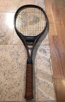Rare Classic Donnay GT 6035 Tennis Racquet Racket Bjorn Borg 4 1 2 Grip  Light 3 329b377ada404