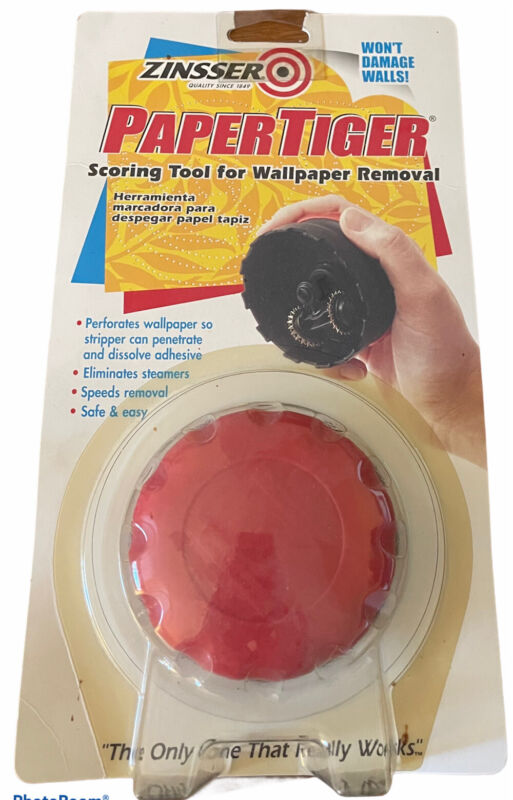 Wallpaper Removal tool #2966 (A3) New In Package Zinsser Paper Tiger Scoring