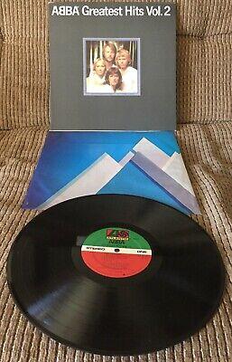 """ABBA """"GREATEST HITS VOL. 2"""" 1979 LP ATLANTIC RECORDS SD16009 Original Press EX!!"""