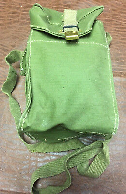 WWII British Gas Mask Bag Equipment Extra Ammo Pouch Pack
