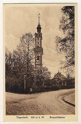 STUTTGART-DEGERLOCH Aussichtsturm * AK um 1910