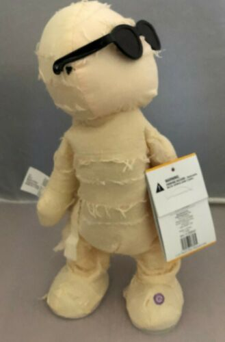 "NEW with Tags Gemmy Dancing 13"" Mummy Plush Sings Fireball Twerking Twerks"