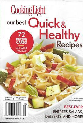 Cooking Light Magazine Best Quick And Healthy Recipes Entrees Salads
