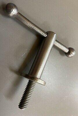 1-vintage Boice Crane Oscillating Spindle Sander Table Trunnion Lever Handles