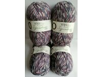 WEST YORKSHIRE SPINNERS SIGNATURE 4PLY KNITTING WOOL YARN 1X100G CREAM SHADE 010