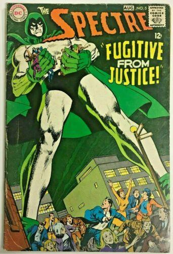 SPECTRE#5 VG/FN 1968 DC SILVER AGE COMICS