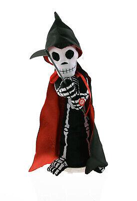 (40cm) Deko Dekoration Skelett mit Sound und Bewegung Tod (Halloween Dekoration Spiele)