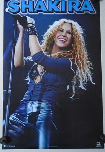 "Shakira / Original Poster #7591 / Exc. new condition / 22 x 34""  Last one"