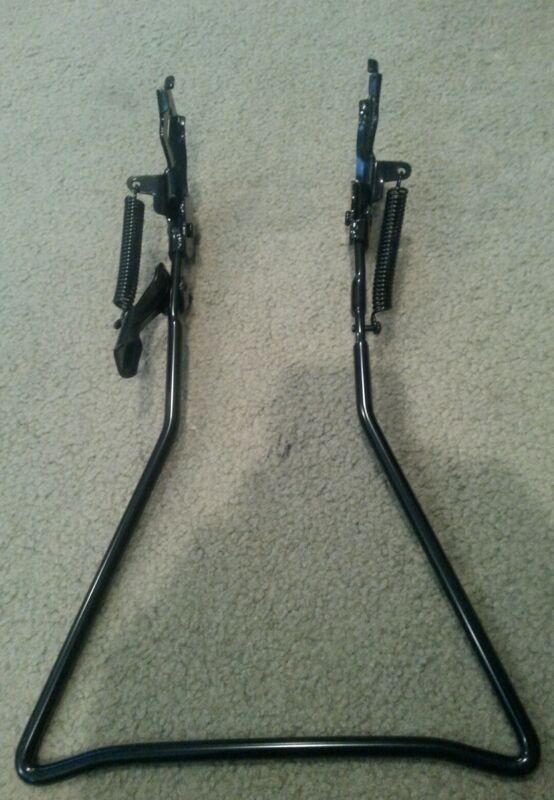 """NEW BLACK  TRADITIONAL VINTAGE TYPE KICKSTAND FOR 26"""" CRUISER BICYCLES"""