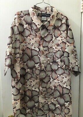 BILLABONG Men's Short Sleeve Button Up Floral Hawaiian Shirt Size XL