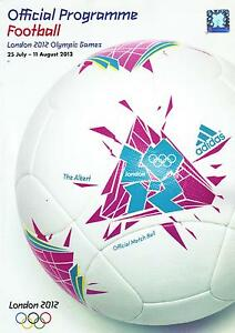 * 2012 LONDON OLYMPICS FOOTBALL OFFICIAL TOURNAMENT PROGRAMME (TEAM GB) *